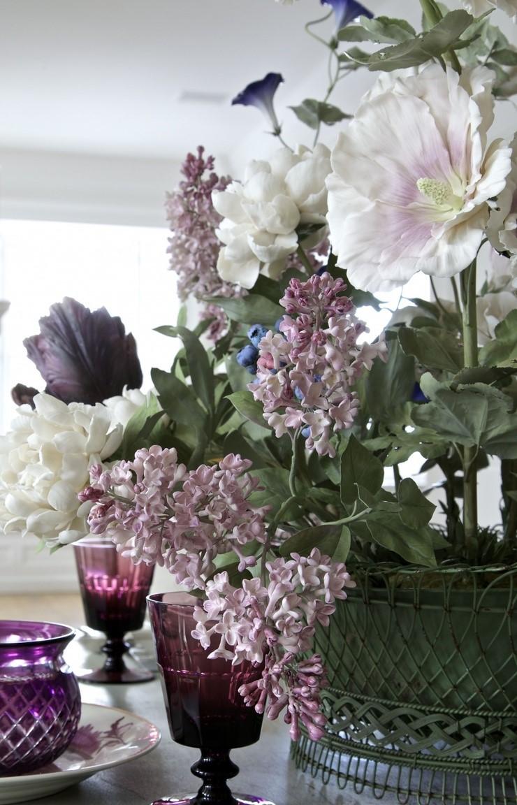 Kwiaty z porcelany Vladimir Kanevsky