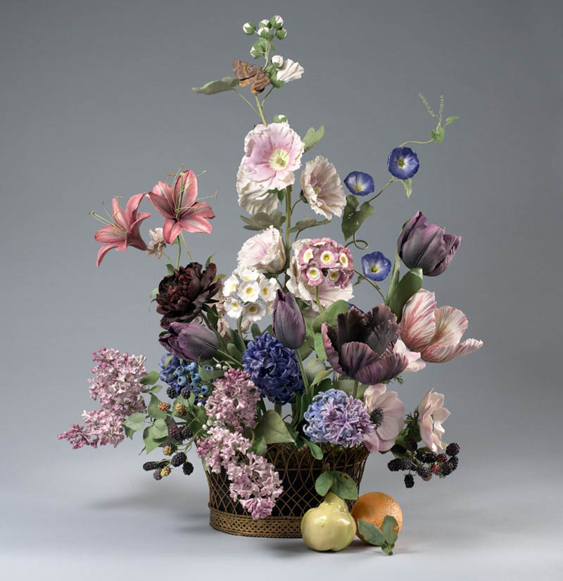 Kwiaty z porcelany Kanevsky