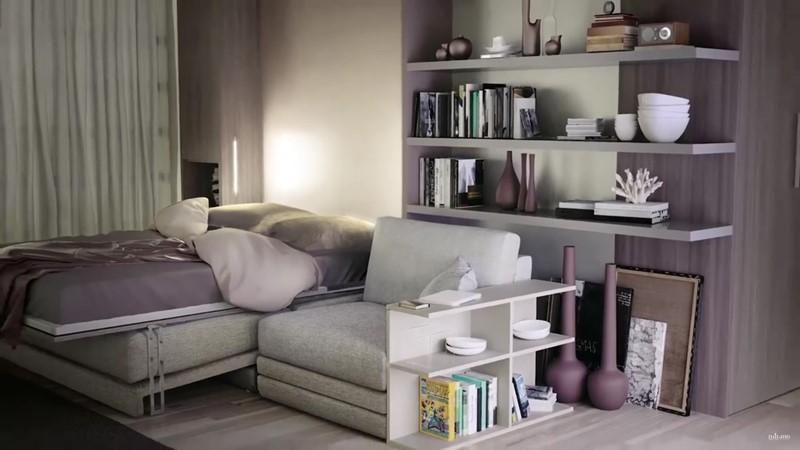 Meble oszczędzające miejsce kanapa łóżko