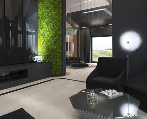 Nowoczesny pokój kawowy - Concept