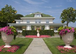 Ogród dekoracyjny w klasycznym stylu - CG