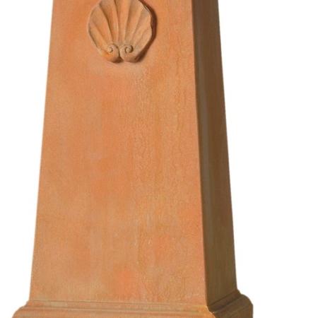 Postument pod rzeźbę terakota