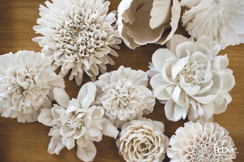 Piękne porcelanowe kwiaty Vladimir Kanevsky