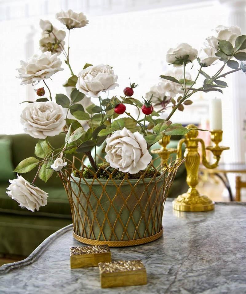 Procelanowe kwiaty Vladimir Kanevsky