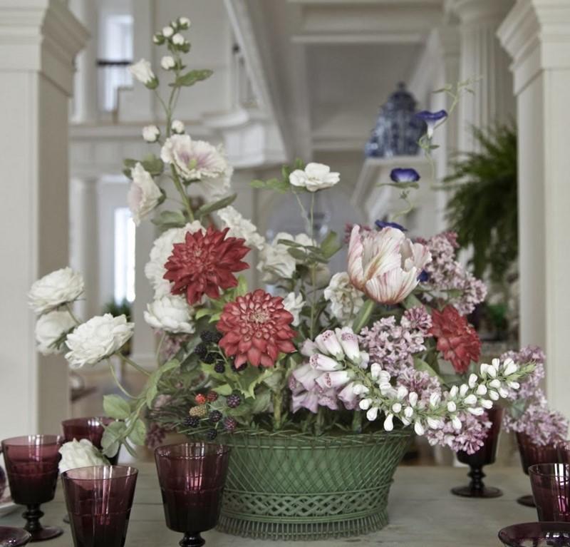 Sztuczne kwiaty z porcelany Vladimir Kanevsky