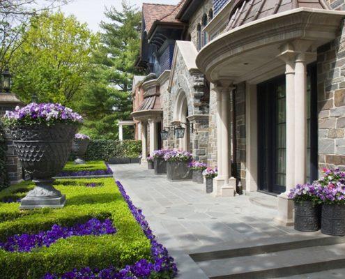 Wejście klasycznego domu - CG