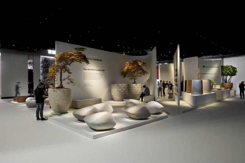 Designerskie donice ogrodowe Atelier Vierkant