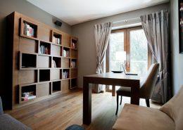 Domowe biuro w drewnie - Archissima