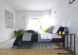 Home staging nowoczesnej sypialni - Stage It Up
