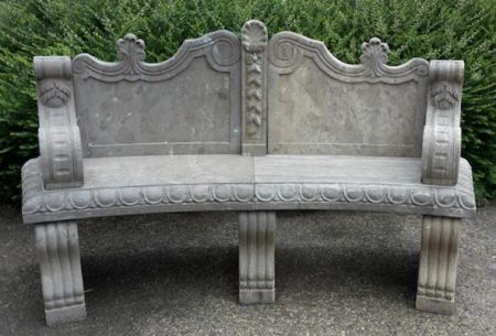 Klasyczna ławeczka betonowa Livingstone Terrasso