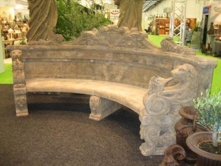 Klasyczna ławka ogrodowa Livingstone Terrasso