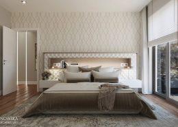Klasyczne desenie w sypialni - Ludwinowska