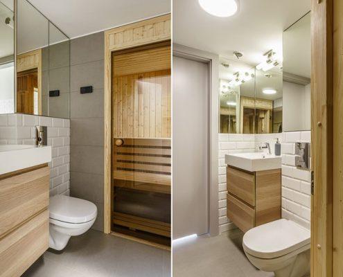 Mała sauna w łazience - Dragon Art