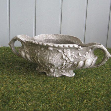Metalowa waza donica ogrodowa G031