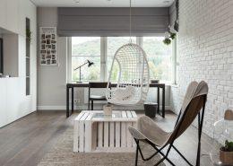 Minimalistyczny pokój dla nastolatki - Archissima