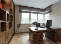 Nowoczesny gabinet w drewnie - Archissima