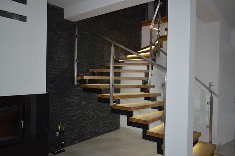 Oryginalne schody w nowoczesnym stylu