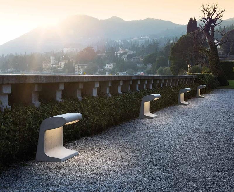 Ekskluzywne lampy borne beton grand Nemo