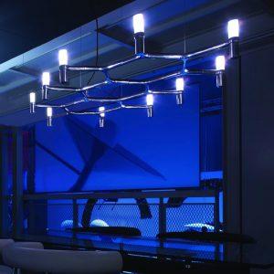 Wisząca lampa do jadalni Crown Plana Nemo
