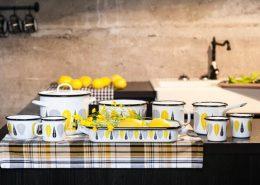 Emaliowane naczynia - Muurla garnki