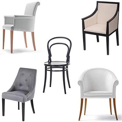 Krzesła modern classic