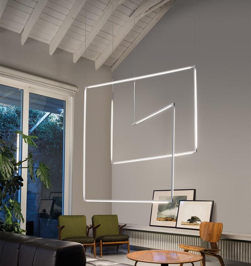 Minimalistyczny system oświetleniowy Linescapes System Nemo