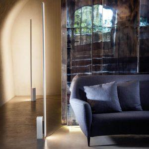 Minimalistyczna lampa podłogowa Linescapes floor Nemo