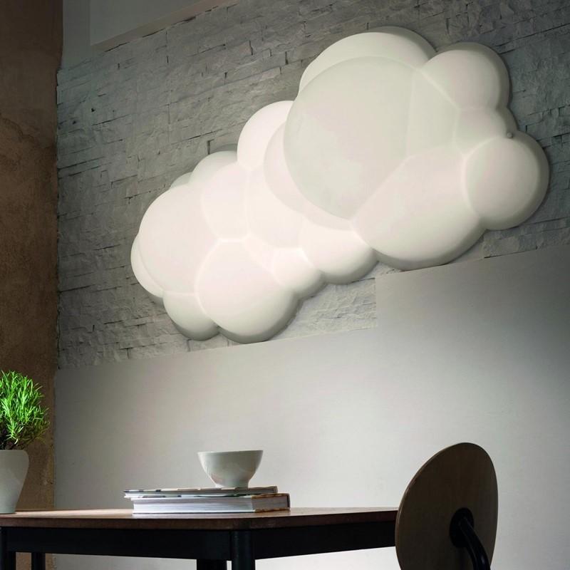 Lampa ścienna chmura Nuvola Nemo