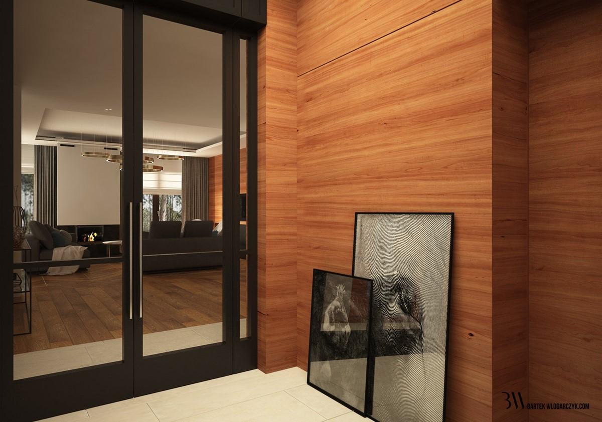 Otwarta kuchnia w bieli hola design homesquare - Nowoczesne Schody W Bieli I Drewnie