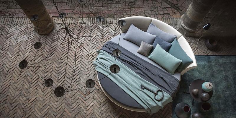 Okrągłe łóżko do sypialni - łóżko w sypialni