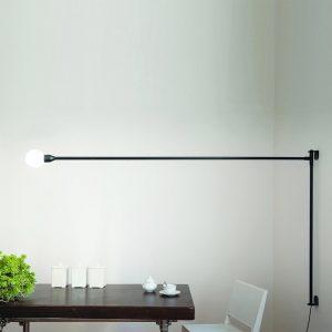 Minimalistyczne lampy ścienne Potence Pivotante Nemo
