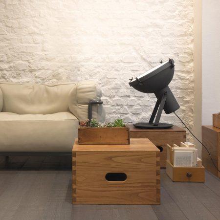 Industrialna lampa podłogowa Projecteur 365 Nemo