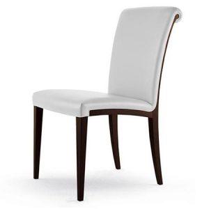 Stylowe krzesło Samo Poltrona Frau