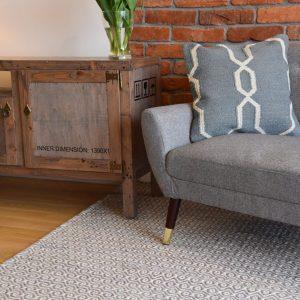 Szaro-biały dywan Oracle Light Grey
