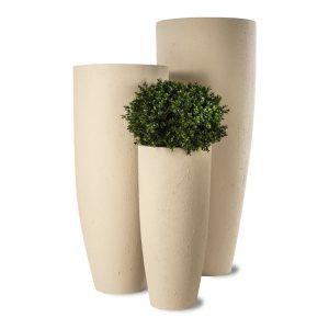 Donica ogrodowa połysk Lisbon Vase S 36 T 22 B 80h Capital Garden