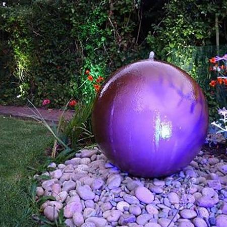 Nowoczesna fontanna ogrodowa Geo Sphere