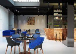 Nowoczesna restauracja Nihil Nov