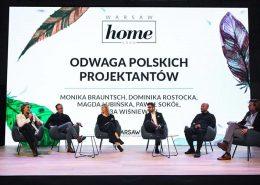 Polscy projektanci o odwadze. Warsaw Home 2017