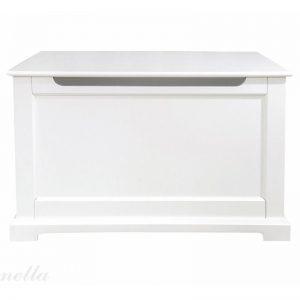 Klasyczna skrzynia biała w stylu francuskim