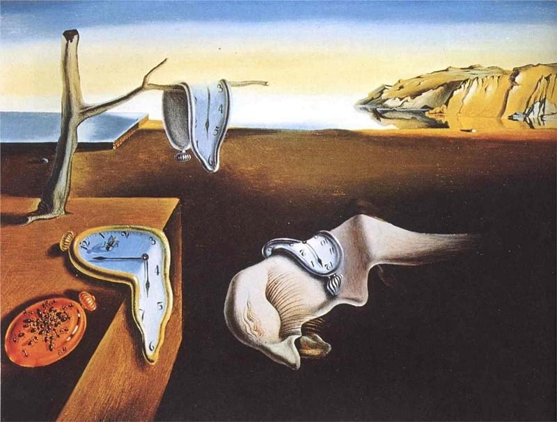 """Salvador Dali """"Trwałość pamięci"""""""