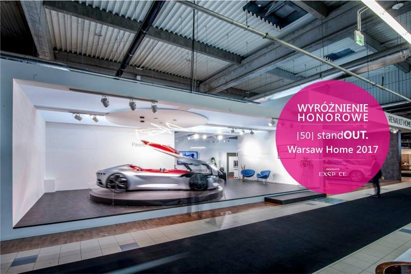 Wyróżnienie Honorowe StandOUT. Warsaw Home 2017 Renault
