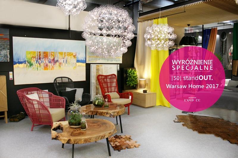 Wyróżnienie Specjalne StandOUT. Warsaw Home 2017 Design In Apartment