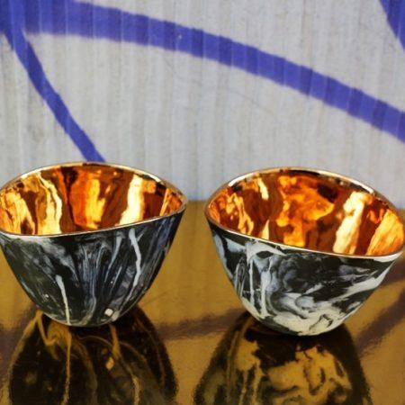 02 Czarki Jewel, porcelana, złoto