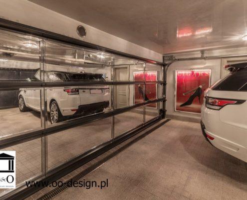 Aranżacja nowoczesnego garażu