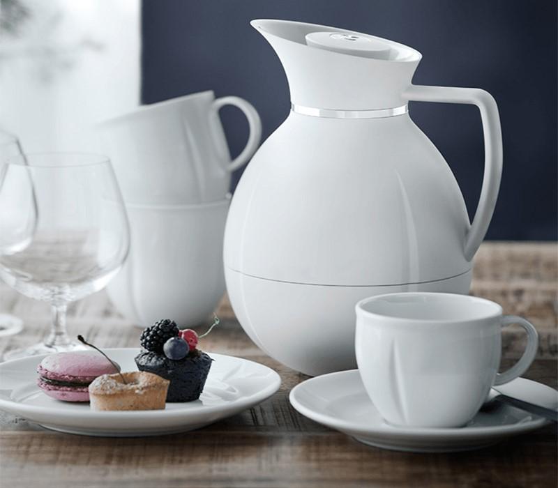Designerska biała porcelana