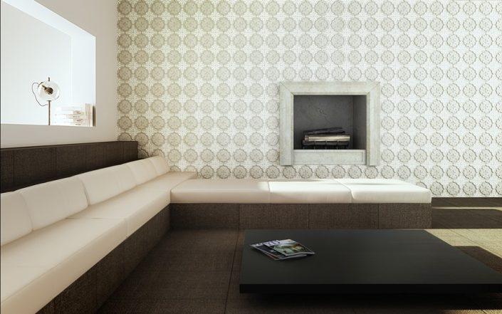 Marmurowe płytki w klasycznym stylu WATERLILY