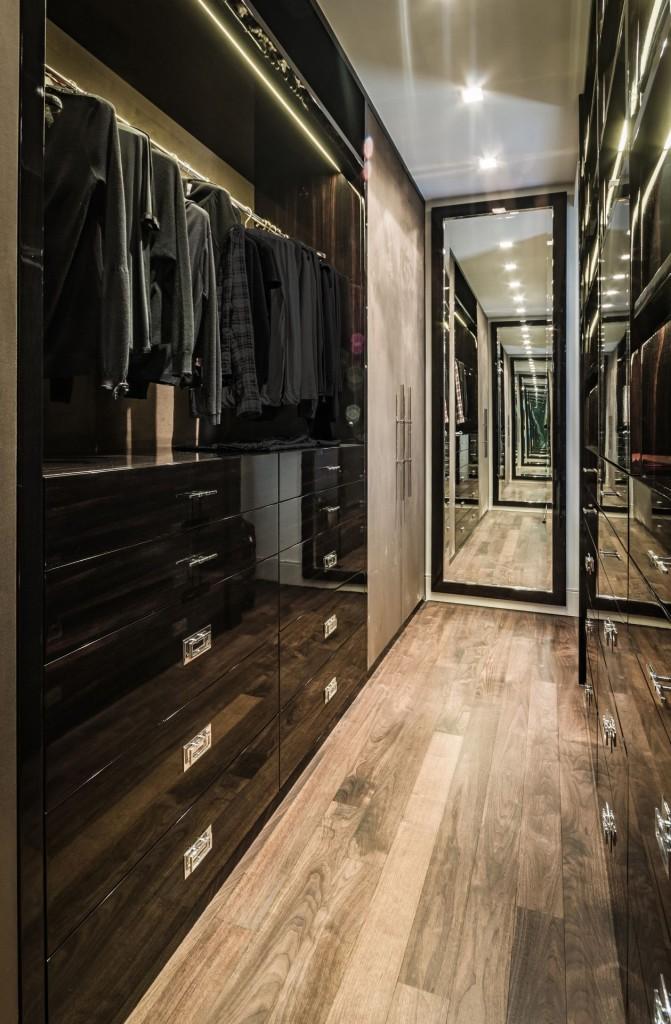 Meble do garderoby na wysoki połysk