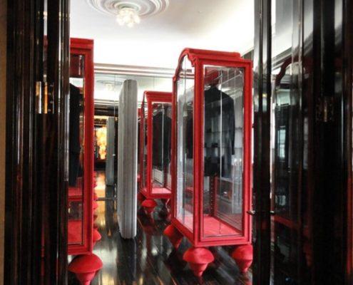 Przeszklone garderoby w klasycznym wydaniu