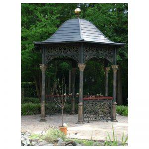 Orientalna altana z żeliwa