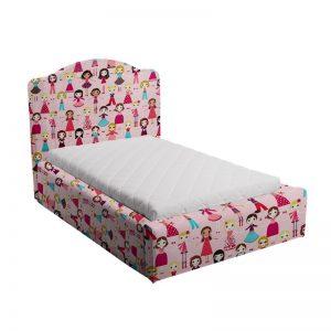 Różowe łóżko dla dziewczynki różowe Soho lalki soho